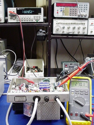 Bench-testing the Output Voltages