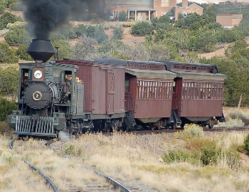 "Steam Locomotive from ""Appaloosa"""